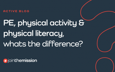 Physical education, physical activity and physical literacy, what's the difference?