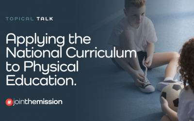 Applying the National Curriculum to Physical Education
