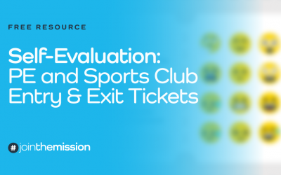 Free Resource: Self Evaluation – Entry & Exit Tickets