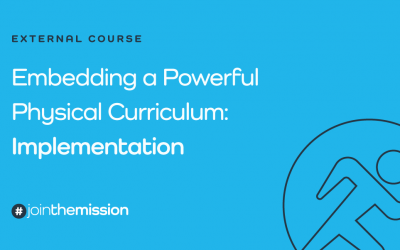 Embedding a Powerful Physical Curriculum: Implementation