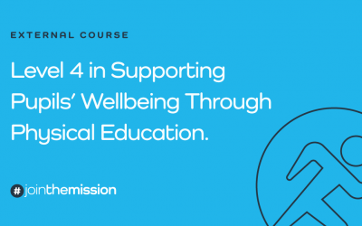 Level 4 in Supporting Pupils Wellbeing Through Physical Education