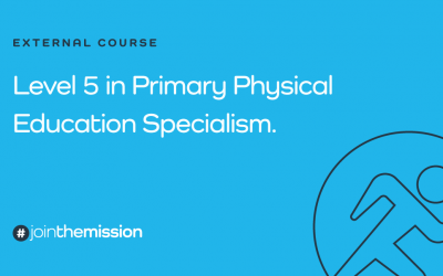 Level 5 Certificate in Primary Physical Education Specialism