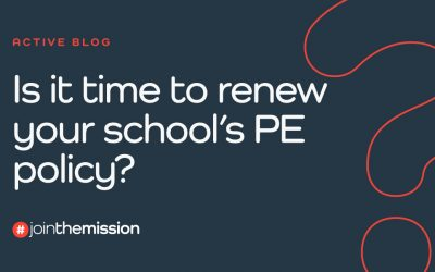 Is It Time To Renew Your School's PE Policy?