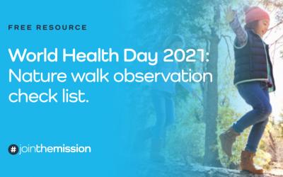 Free Resource: Nature Walk Observation Checklist