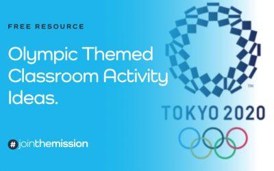 Free Resource: Tokyo 2020 Classroom Activity Ideas